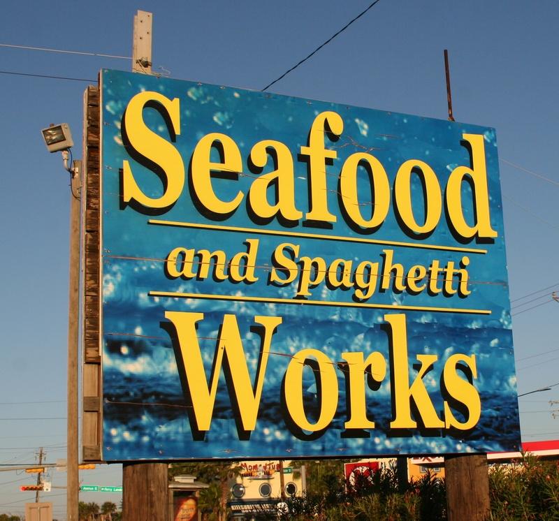 Jay's Seafood and Spaghetti Works Port Aransas Texas